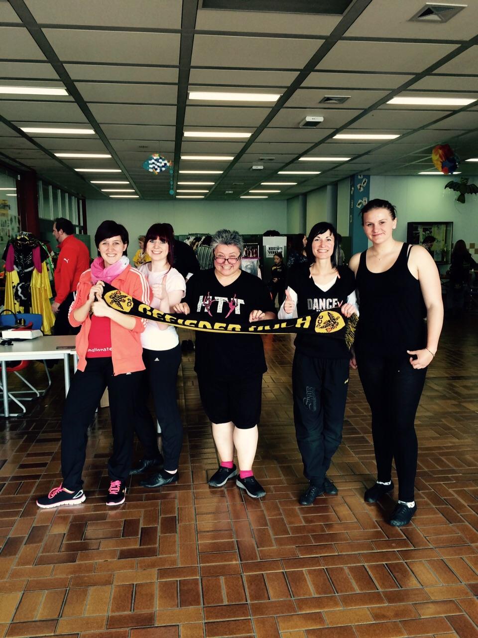 Hofer Tanztage 2015 mit Iris Leichauer, 32 km
