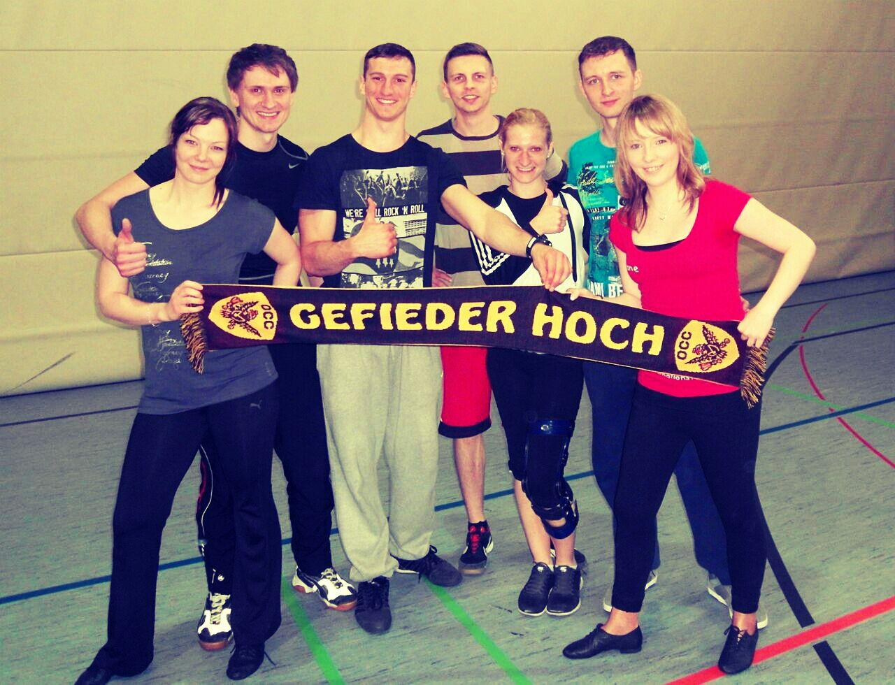 Hofer Tanztage 2015 mit den 4fachen deutschen Meistern, 32 km
