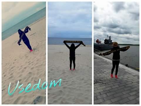 Insel Usedom, 551 km