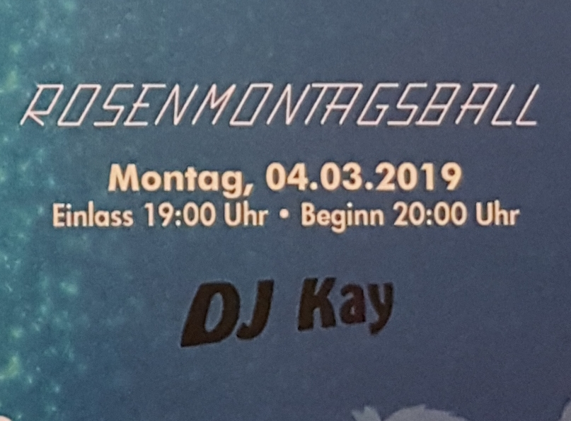 Rosenmontagsball @ Vogtlandsporthalle Oelsnitz